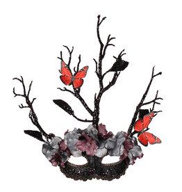 Oogmasker Tree, Zwart