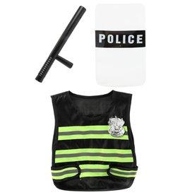 Politieset Hesje, Schild en Wapenstok