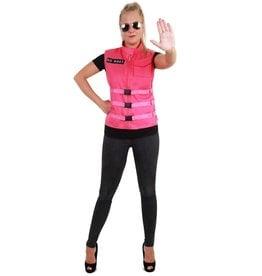S.O. W.H.A.T Vest Roze Dames, One Size