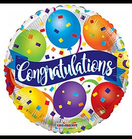 Folie Ballon Congratulations (45 cm)