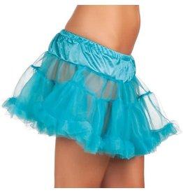 Petticoat neon Blauw