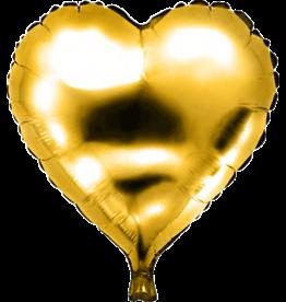 Folie Ballon Hart Goud (45 cm)