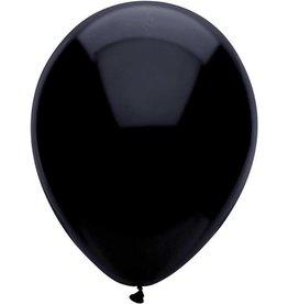 Ballonnen Zwart (25 cm, 100 stuks)