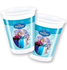 Frozen plastic bekers Anna en Elsa (8)