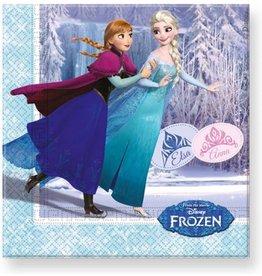 Frozen servetten Anna, Elsa en Olaf (20)
