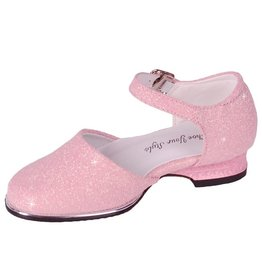 Galaschoen Meisjes Roze met Glitters