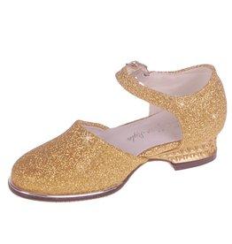 Galaschoen Meisjes Goud met Glitters