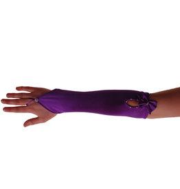 Handschoen Paars met Strikje