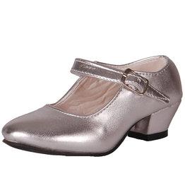 Spaanse Schoentjes Zilver met Hakje