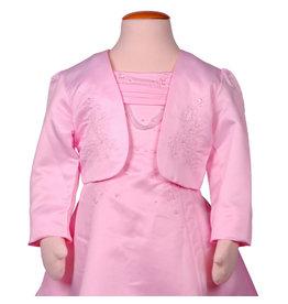 Bolero Meisjes Roze met Borduursel