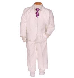 Jongens Kostuum Ivoor / Off White