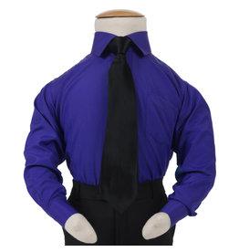 Kinderoverhemd Koningsblauw