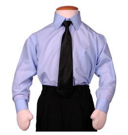 Kinderoverhemd Lange Mouw Lichtblauw