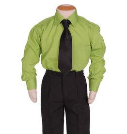 Kinderoverhemd Lange Mouw Groen