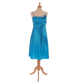 Korte Jurk Turquoise