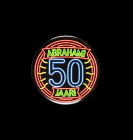 Neon Button - Abraham 50