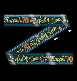 Neon Party Tape – 70 Jaar