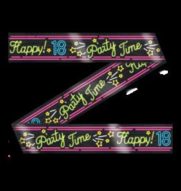 Neon Party Tape – 18 Jaar
