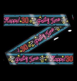 Neon Party Tape – 30 Jaar