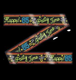 Neon Party Tape – 65 Jaar