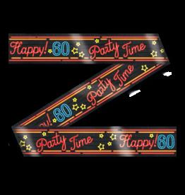 Neon Party Tape – 60 Jaar