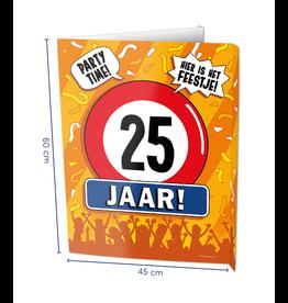 Window Signs - 25  Jaar