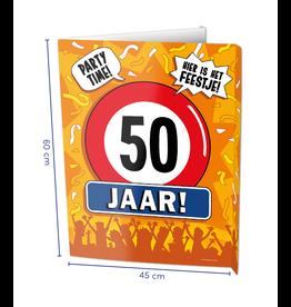 Window Signs - 50  Jaar