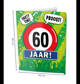 Window Signs - 60  Jaar