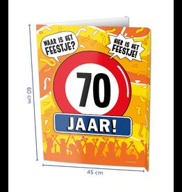 Window Signs - 70  Jaar
