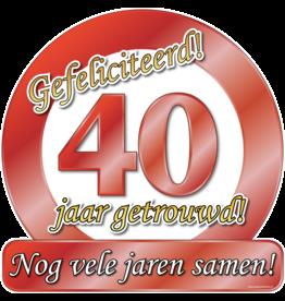 Huldeschild - Special - 40 Jaar Getrouwd