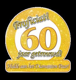 Huldeschild - Special - 60 Jaar Getrouwd