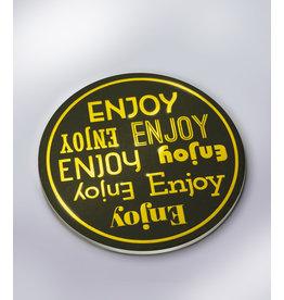 Glossy Onderzetters - Enjoy!