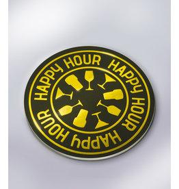 Glossy Onderzetters - Happy Hour!
