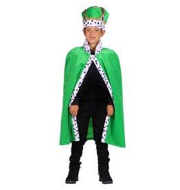 Koningsmantel Kind, Groen