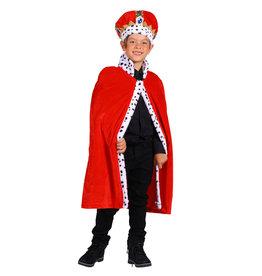 Koningsmantel Kind, Rood