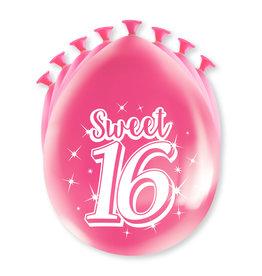 Party Ballonnen - Sweet 16