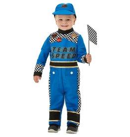 Race Kostuum voor Peuters, Blauw