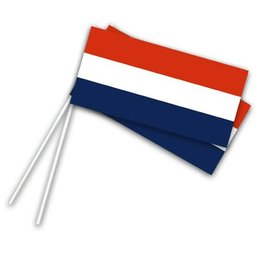 Zwaaivlag Nederland  (22x12cm)