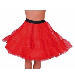 Petticoat Rood Middel Lang, Elastique