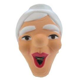 Masker Sarah Lachend, Plastic