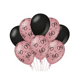 Decoratie Ballon Rosé/Zwart - 60