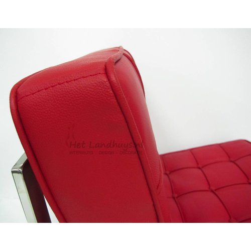 Het Landhuys Expo Fauteuil Rood