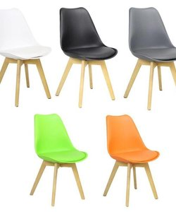 Woody chair in 6 colors