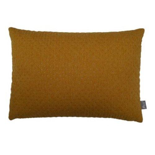 Raaf Sierkussenhoes Ploum geel 35 x 50 cm