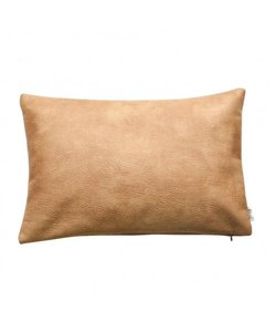 Cushion cover Huid anthracite 35x50