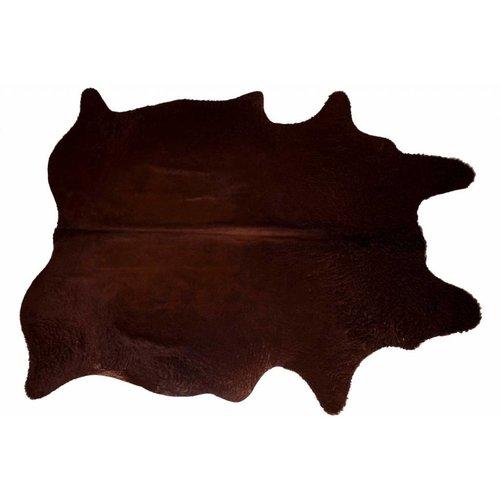 Het Landhuys Koeienhuid Choco Mystery 200  x 140 cm