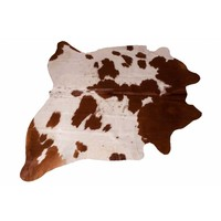 Cow Skin Brown-White