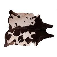 Koeienhuid Wit/Bruin 200 x 140 cm
