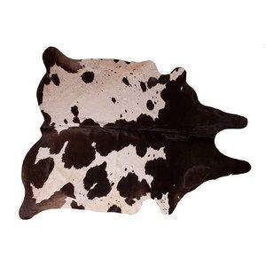 Het Landhuys Cowhide White / Brown 200 x 140 cm