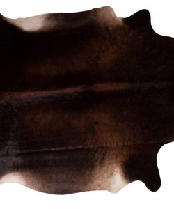Cowhide Dark Choco 200 x 140 cm